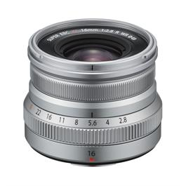 Fujifilm XF 16mm f2.8 R WR Super Wide Angle Prime Lens - Silver Thumbnail Image 0