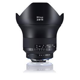 ZEISS Milvus 15mm f/2.8 ZF.2 Lens - Nikon F Mount thumbnail