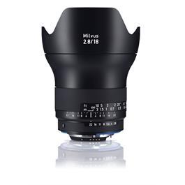 ZEISS Milvus 18mm f/2.8 ZF.2 Lens - Nikon F Mount thumbnail