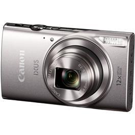 canon ixus compact camera silver