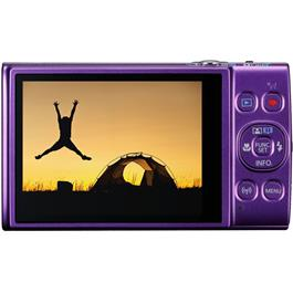 canon ixus compact camera purple