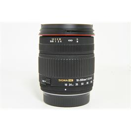 Used Sigma 18-200mm F/3.5-6.3 DC Lens Pentax Fit thumbnail