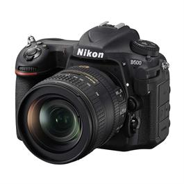 Nikon D500 DSLR Camera with16-80mm f/2.8-4E ED VR lens kit thumbnail
