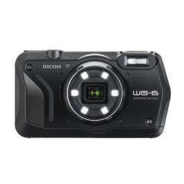 Ricoh WG-6 Action Camera - Black thumbnail