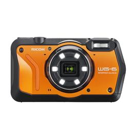 Ricoh WG-6 Action Camera - Orange thumbnail