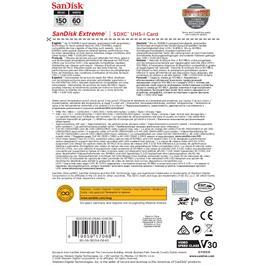 Sandisk Extreme 64GB SDXC 150MB/s Thumbnail Image 1