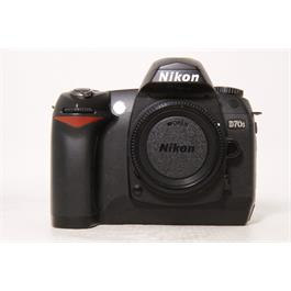 Used Nikon D70s with 18-70mm f3.5-4.5G Thumbnail Image 0