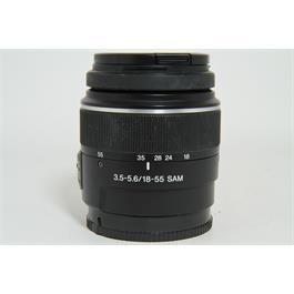 Used Sony 18-55mm F3.5-5.6 SAM Lens Thumbnail Image 0