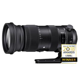 Sigma 60-600mm lens f/4.5 - 6.3 DG OS HSM Sports Canon Mount thumbnail