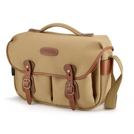 Billingham Hadley Pro Shoulder Bag - Khaki Canvas/Tan