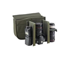 Billingham Hadley Pro Shoulder Bag - Khaki FibreNyte/Chocolate