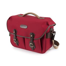 Billingham Hadley One Shoulder Bag - Burgundy Canvas/Chocolate thumbnail