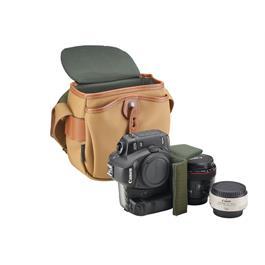 Billingham Hadley Digital Shoulder Bag - Khaki/Tan