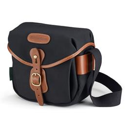 Billingham Hadley Digital Shoulder Bag - Black Canvas/Tan thumbnail