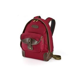 Billingham 35 Rucksack - Burgundy Canvas/Chocolate thumbnail