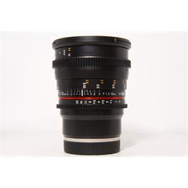 Used Samyang 50mm T1.5 VDSLR AS UMC E-Mount  thumbnail