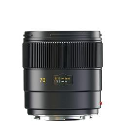 Leica SUMMARIT-S 70 f/2.5 ASPH CS Lens Black Anodised thumbnail