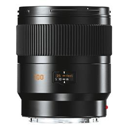 Leica SUMMICRON-S 100 f/2 ASPH Lens Black Anodised thumbnail