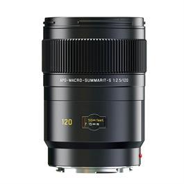 Leica APO-MACRO-SUMMARIT-S 120 f/2.5 Lens Black Anodised thumbnail