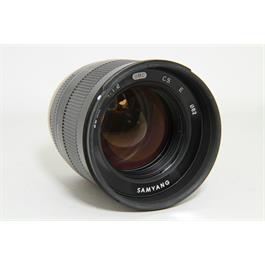 Used Samyang 50mm F/1.2 CSC Sony E-Mount Lens Thumbnail Image 1