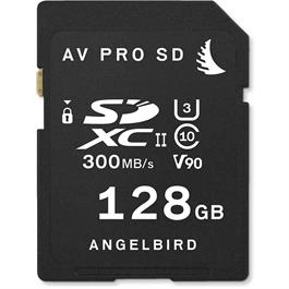 Angelbird 128GB AV Pro UHS-II V90 SDXC Memory Card thumbnail