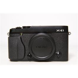 Used Fujifilm X-E1 Body Black thumbnail