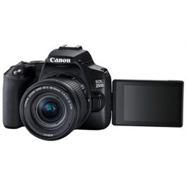 Canon EOS 250D Body With EF-S 18-55mm f/4-5.6 IS STM Lens Kit - Black Thumbnail Image 2
