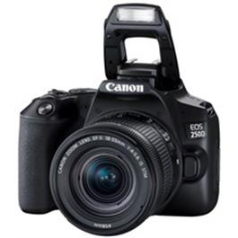 Canon EOS 250D Body With EF-S 18-55mm f/4-5.6 IS STM Lens Kit - Black Thumbnail Image 4