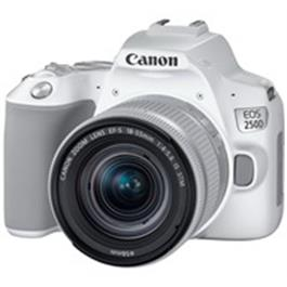 Canon EOS 250D Body With EF-S 18-55mm f/4-5.6 IS STM Lens Kit - White Thumbnail Image 0