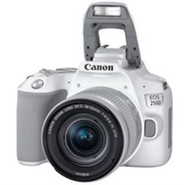 Canon EOS 250D Body With EF-S 18-55mm f/4-5.6 IS STM Lens Kit - White Thumbnail Image 1