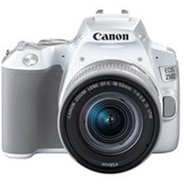 Canon EOS 250D Body With EF-S 18-55mm f/4-5.6 IS STM Lens Kit - White Thumbnail Image 2