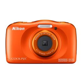 Nikon COOLPIX W150 waterproof camera Orange thumbnail