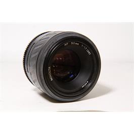 Used Minolta 50mm F/1.7 A-Mount Thumbnail Image 1