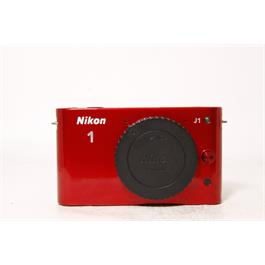 Used Nikon J1 Body Red & 10-30mm VR Red Thumbnail Image 0