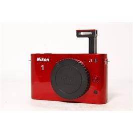 Used Nikon J1 Body Red & 10-30mm VR Red Thumbnail Image 6