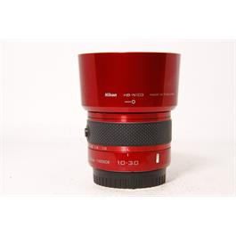 Used Nikon J1 Body Red & 10-30mm VR Red Thumbnail Image 7
