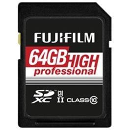 Fujifilm 64GB SDHC UHS II 180/285 thumbnail