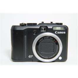 Used Canon Powershot G7 Compact Camera Thumbnail Image 0