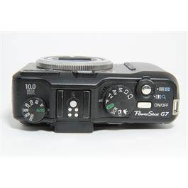 Used Canon Powershot G7 Compact Camera Thumbnail Image 4
