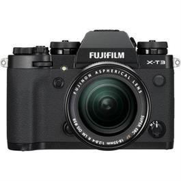 Fujifilm Fuji X-T3 18-55mm Black Camera Kit with 55-200mm lens thumbnail