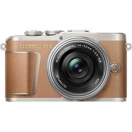 Olympus E-PL9 14-42mm EZ Brown - Open Box thumbnail