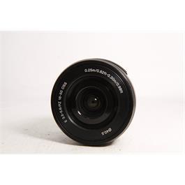 Used Sony E 16-50mm f3.5-5.6 PZ OSS Thumbnail Image 1