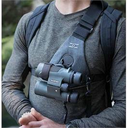 <image alt>Cotton Carrier Skout for Binoculars Charcoal Grey