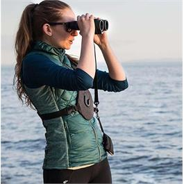Cotton Carrier Skout for Binoculars Charcoal Grey