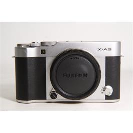Used Fujifilm X-A3 Body Silver thumbnail