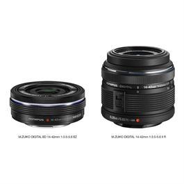 Olympus M.Zuiko Digital ED 14-42mm f/3.5-5.6 EZ Zoom Lens - Black Thumbnail Image 2