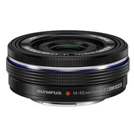 Olympus M.Zuiko Digital ED 14-42mm f/3.5-5.6 EZ Zoom Lens - Black thumbnail