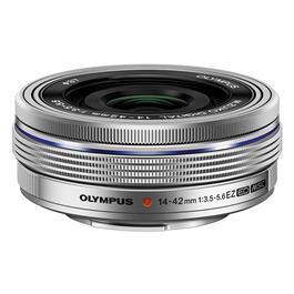 Olympus M.Zuiko Digital ED 14-42mm f/3.5-5.6 EZ Zoom Lens - Silver thumbnail