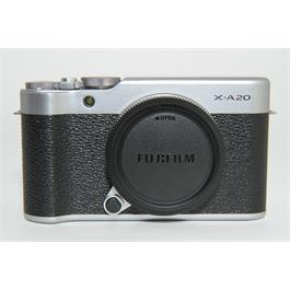 Used Fujifilm X-A20 Silver Body thumbnail