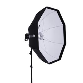 "Interfit 100cm 41"" White Foldable Beauty Dish with Grid thumbnail"